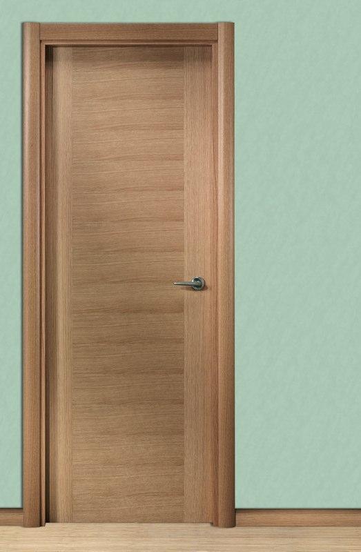 Puerta lv h roble maderas g mez for Puertas para piezas