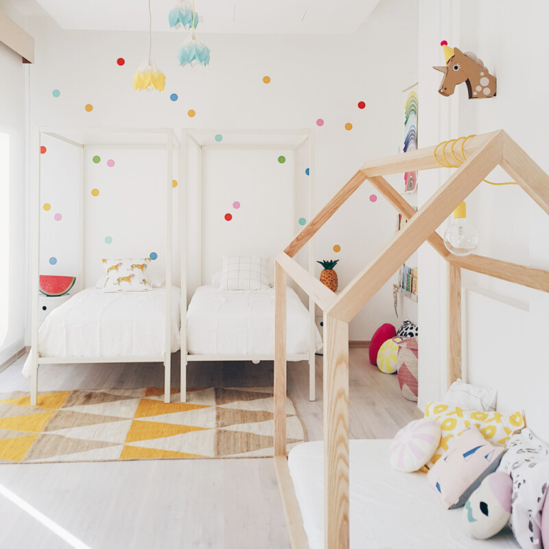 diseño de cama infantil