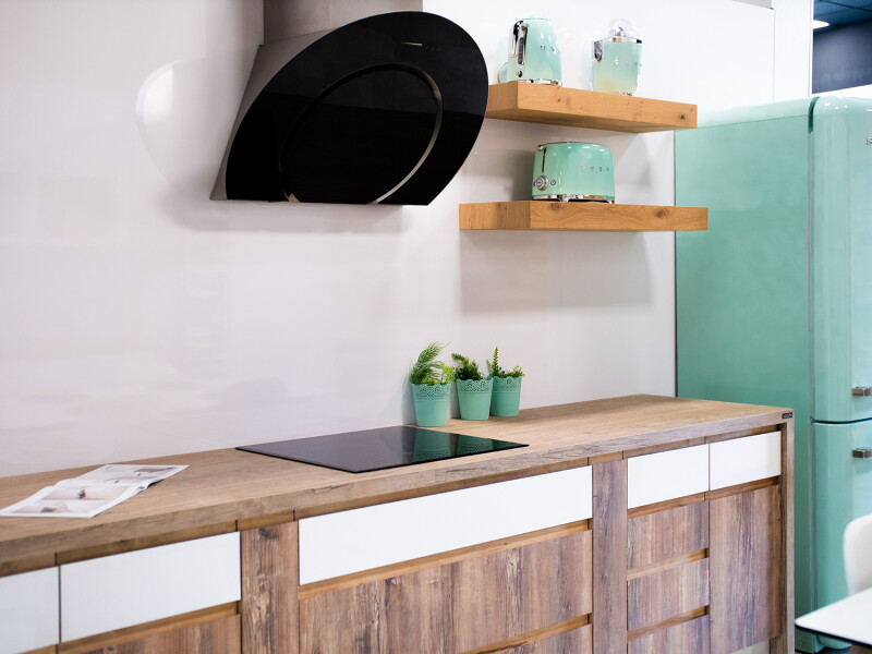 cocinas en colores vivos