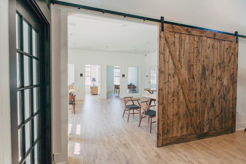 puerta corredera salón
