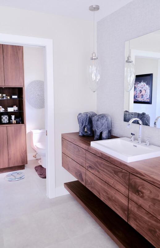 lavabos de madera